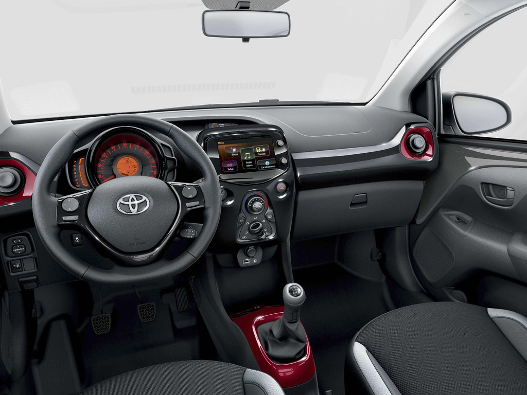 Toyota Aygo 2014 Interior Toyota Motor Europe Flickr