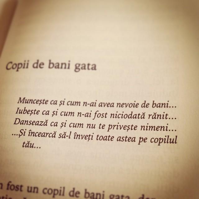 citate simple Mihaela Rădulescu în cartea