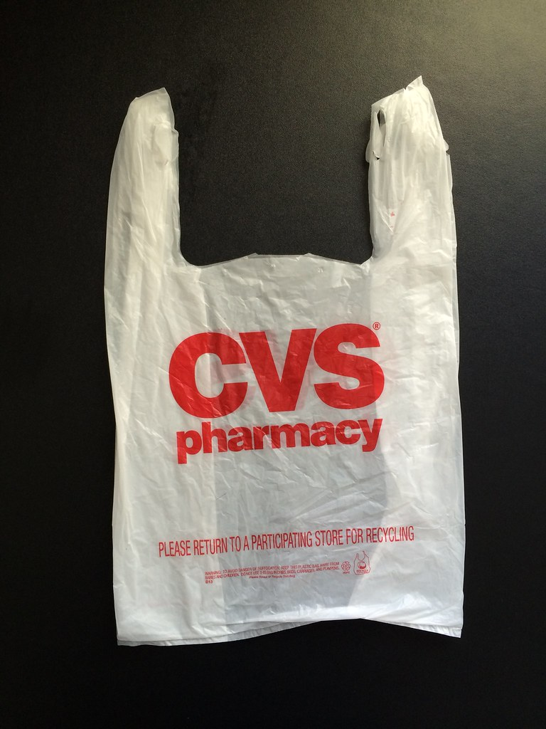 cvs pharmacy plastic bag