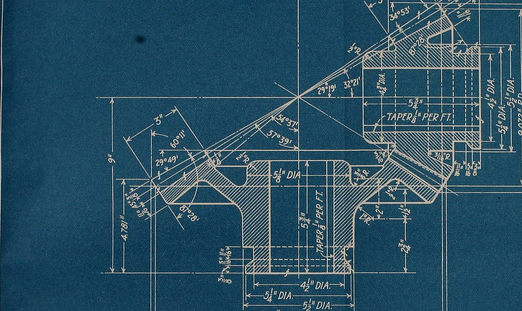 image from page 110 of blueprint reading a practical man. Black Bedroom Furniture Sets. Home Design Ideas