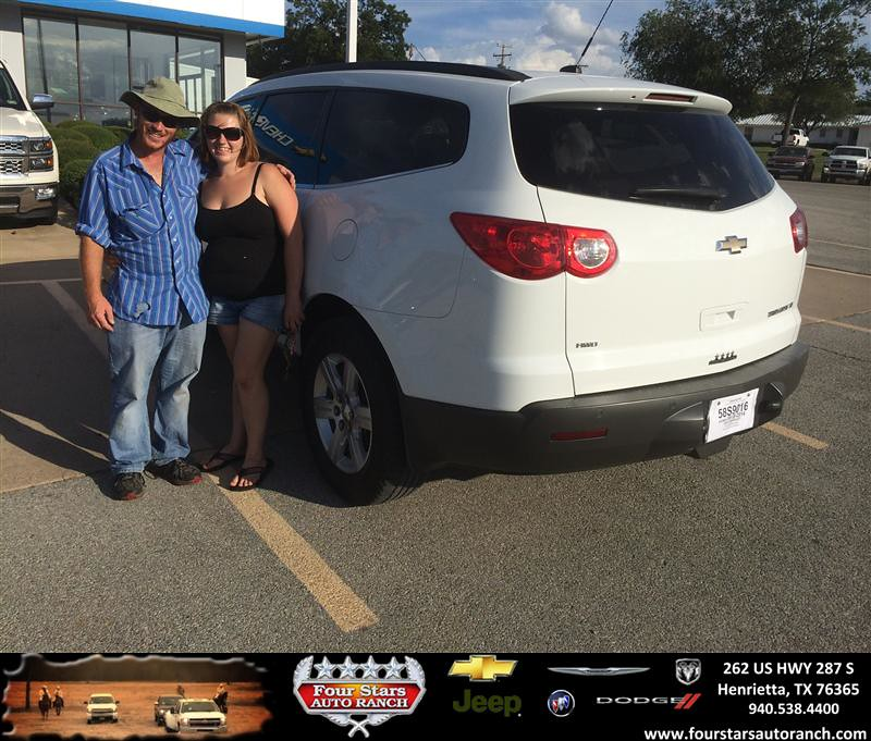 Four Stars Auto Ranch >> Congratulations to Ricky & Brandi Jolly on your new car pu ...