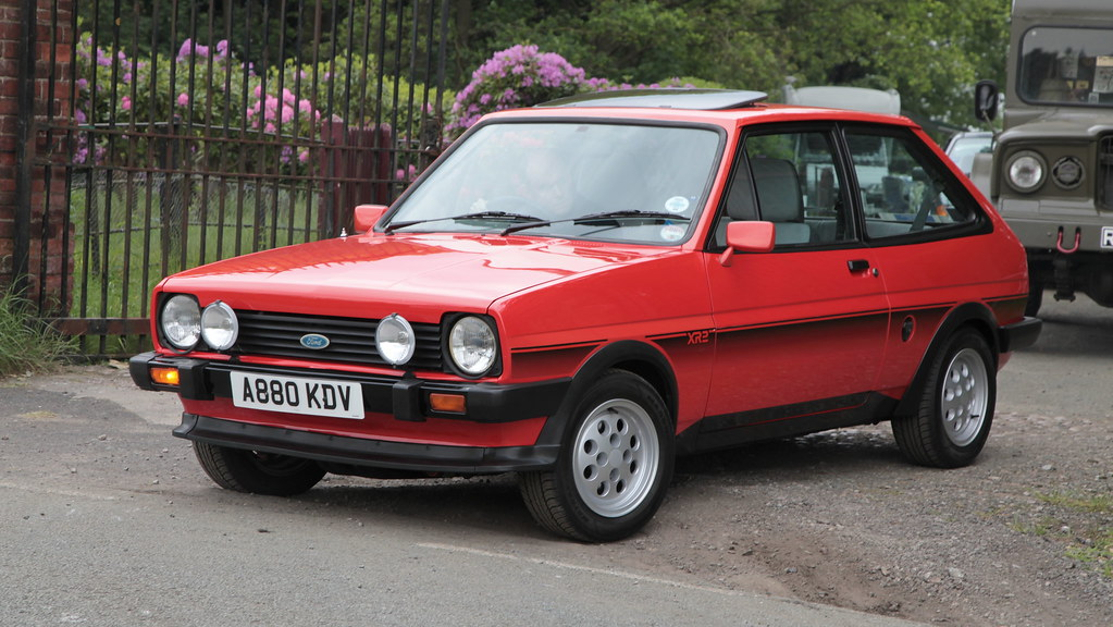 1984 ford fiesta xr2 an early 1984 if the plate 39 s. Black Bedroom Furniture Sets. Home Design Ideas