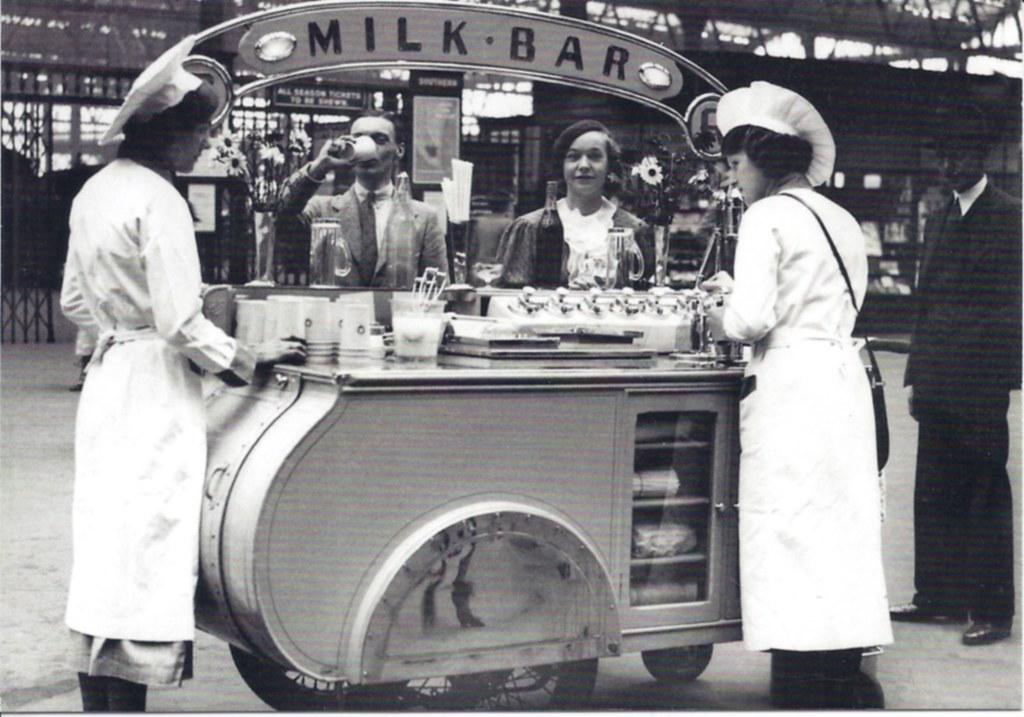 Die Milchbar - Die Entstehung eines Lebensgefühls