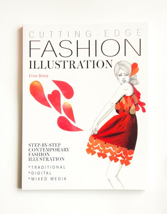 Fashion Book Cover Job ~ Cutting edge fashion illustration book cover