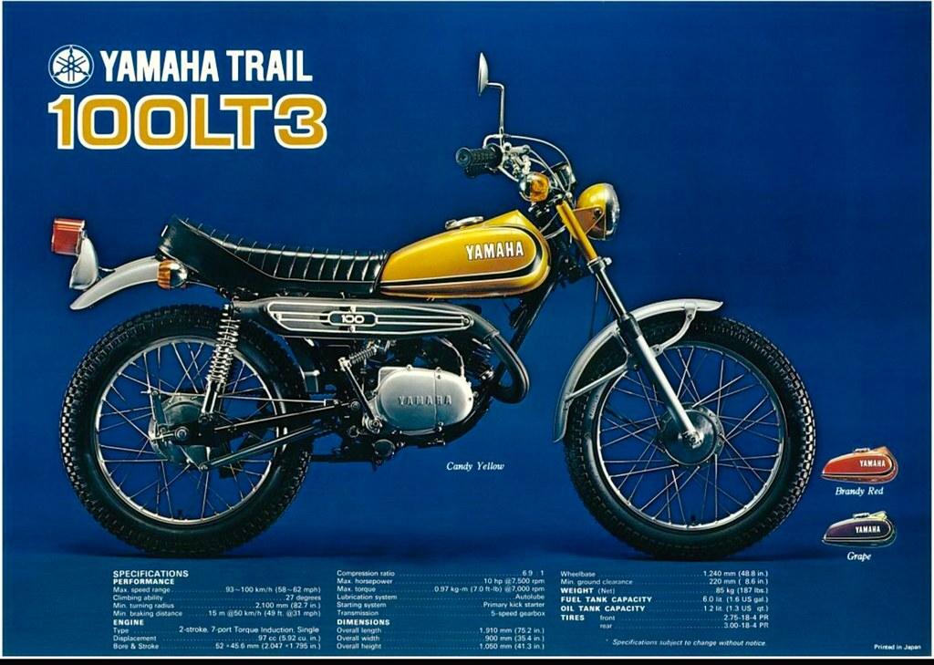 1973 yamaha 100 lt3 tony blazier flickr for 1973 yamaha yz80