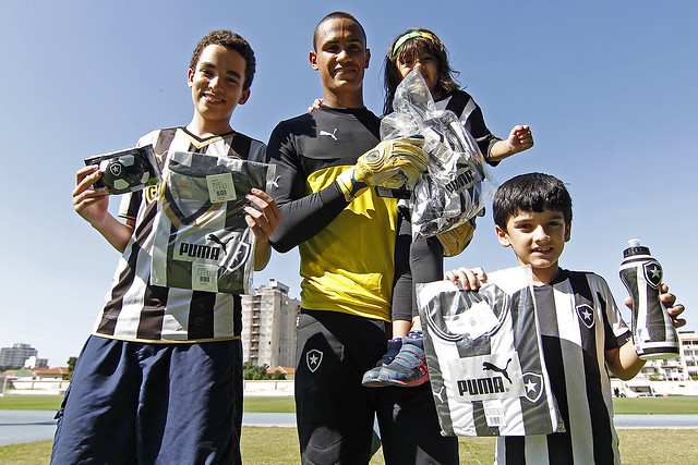 Treino do Botafogo