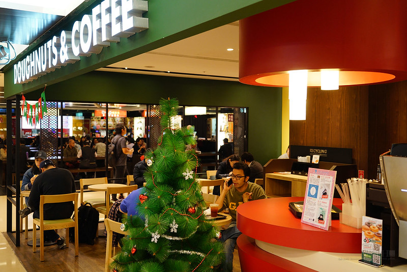 微風台北車站 DOUGHNUTS & CAFFEE