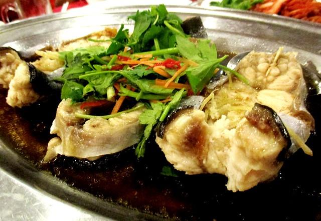 Tung Seng Restaurant steamed lajong
