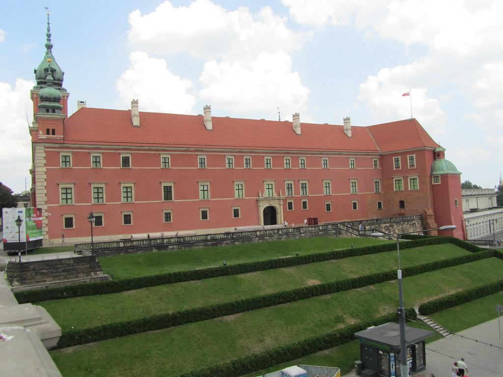 Otra vista del Castillo de Varsovia