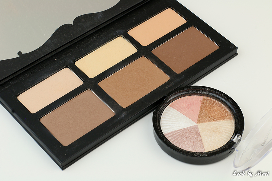4 kat von d shade & lights contour palette shades sävyt ofra beverly hills highlighter korostusväri koreina.com