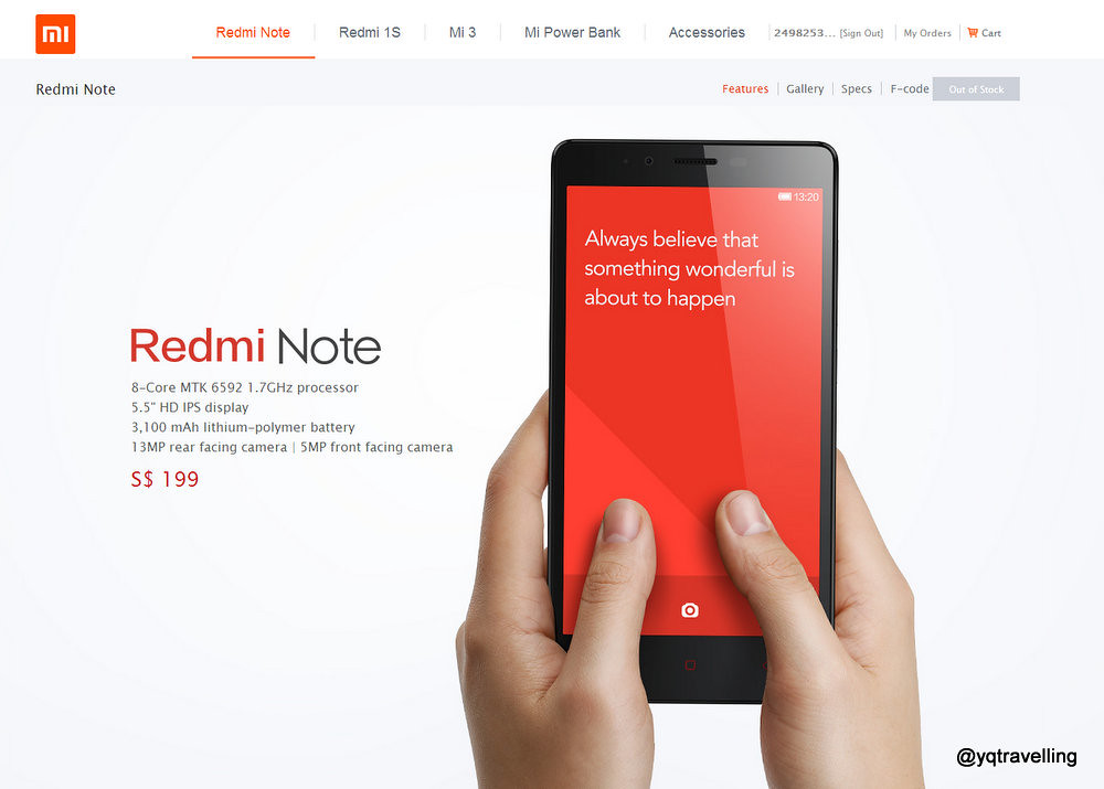 How to buy Redmi Note