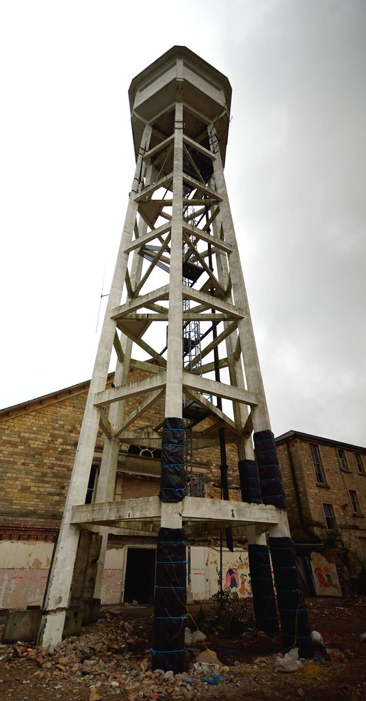 Demolish Water Tower : St john s village development water tower demolition