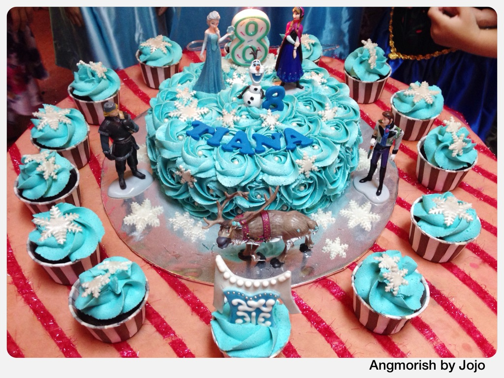 Luxury Birthday Cakes Cupcakes On Disney Frozen All About
