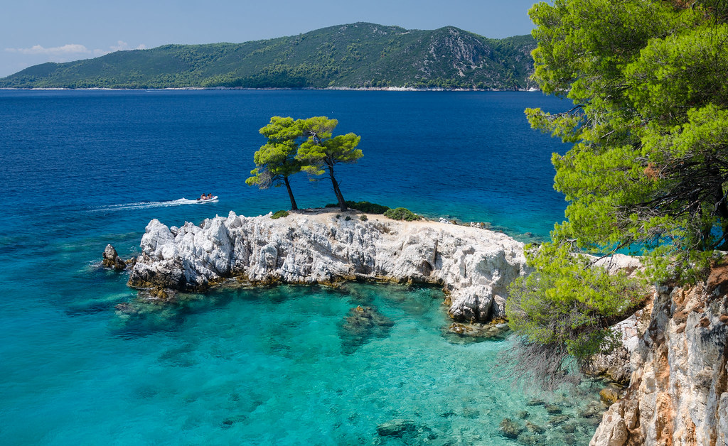 Amarandos, Skopelos, Greece