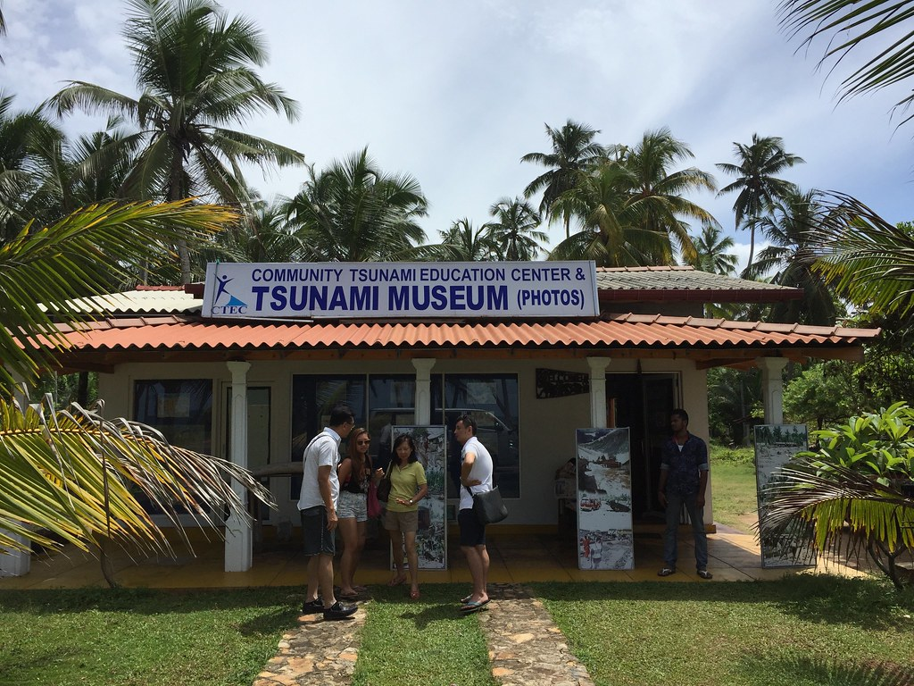 Tsunami Museum in Hikkaduwa