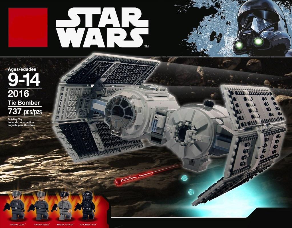 Lego Tie Bomber Launch A Devastating Raid Against Rebel