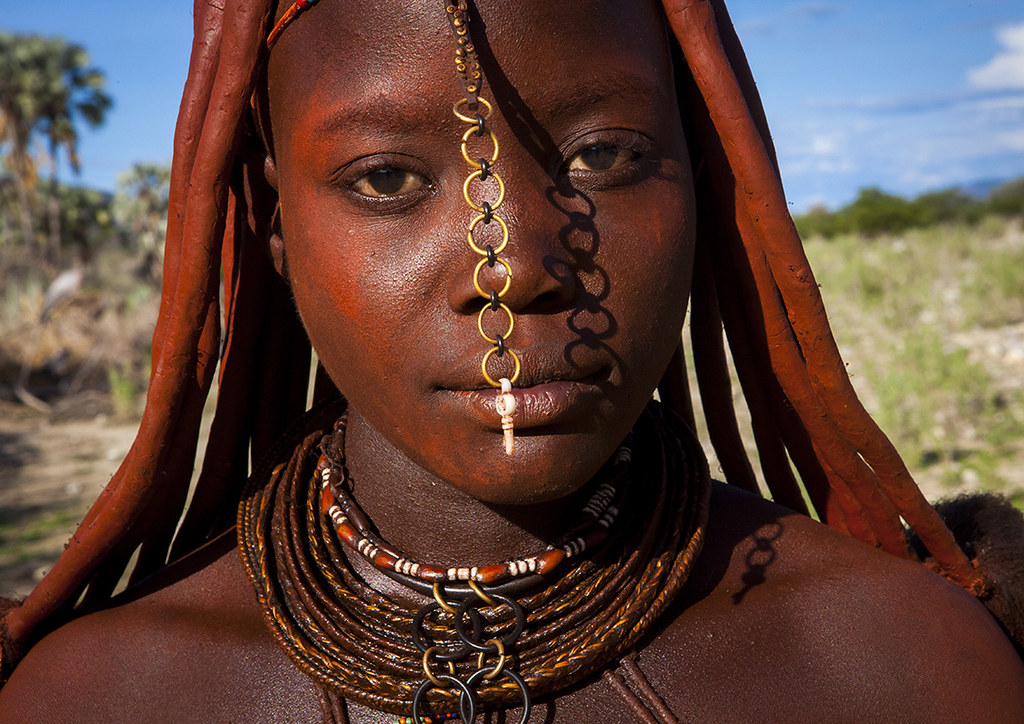 Himba Woman Hairstyle Epupa Namibia 169 Eric Lafforgue