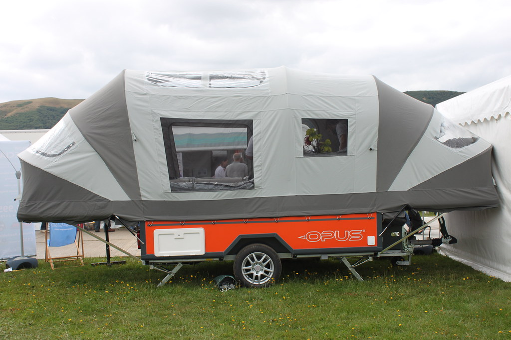 Opus Trailer Tent Small Trailer Converts To Large Tent