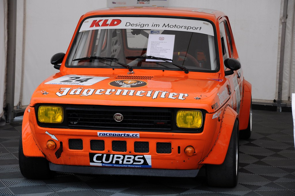 fiat 127 abarth 1978 avd oldtimer grand prix n rburgring flickr. Black Bedroom Furniture Sets. Home Design Ideas