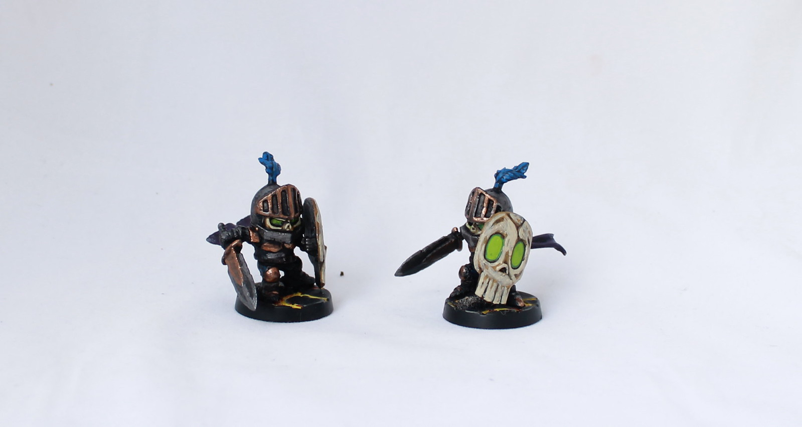 Super Dungeon Explore Shallow Grave Dread Knights Skeleton Undead Painted Chibi