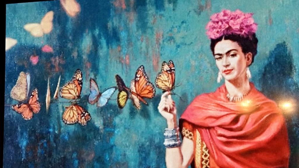 Murales frida kahlo bruna di pietrantonio flickr for Cuartos decorados de frida kahlo