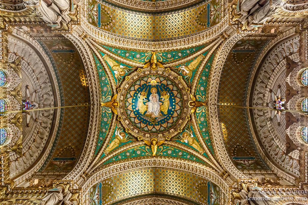 архитектура страны Франция Базилика Нотр-Дам-де-Фурвьер загрузить
