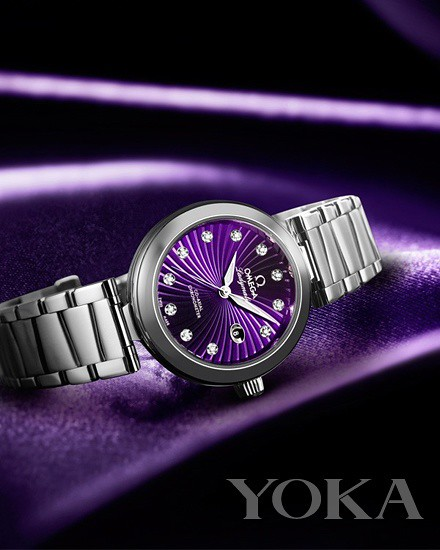 Omega Omega-Butterfly fly series LADYMATIC 425.30.34.20.60.001 ladies watch 57700 CNY