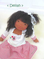 Delilah, 19 inch Natural Fiber Doll by Down Under Waldorfs