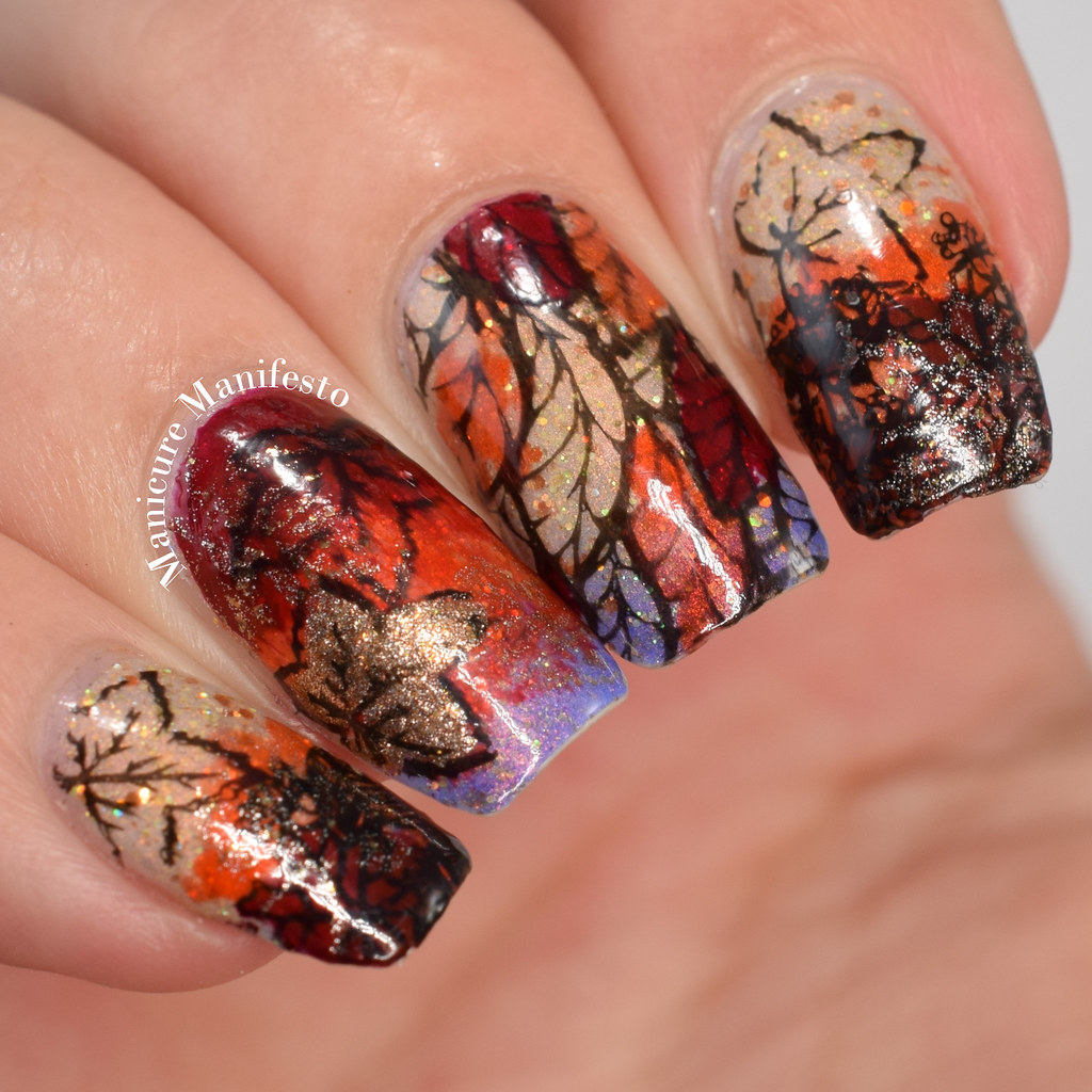Manicure Manifesto: Fall Leaves Nail Art