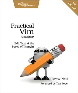 Practical Vim cover