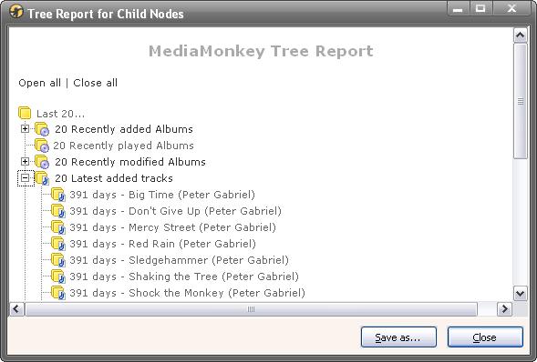 TreeReport-1.0