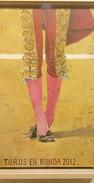 Poster from Bullfighting Museum, Ronda, Spain