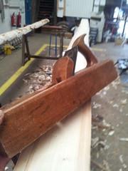 Stanley's wooden jack plane