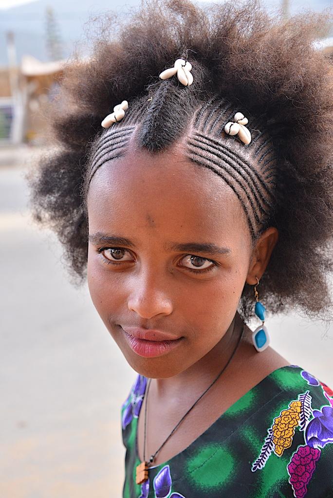 Traditional Hair Design Adigrat Tigray Ethiopia Rod