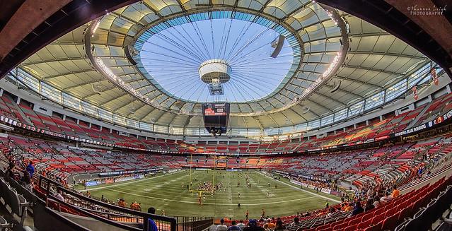 BC Place Stadium  - Explored!