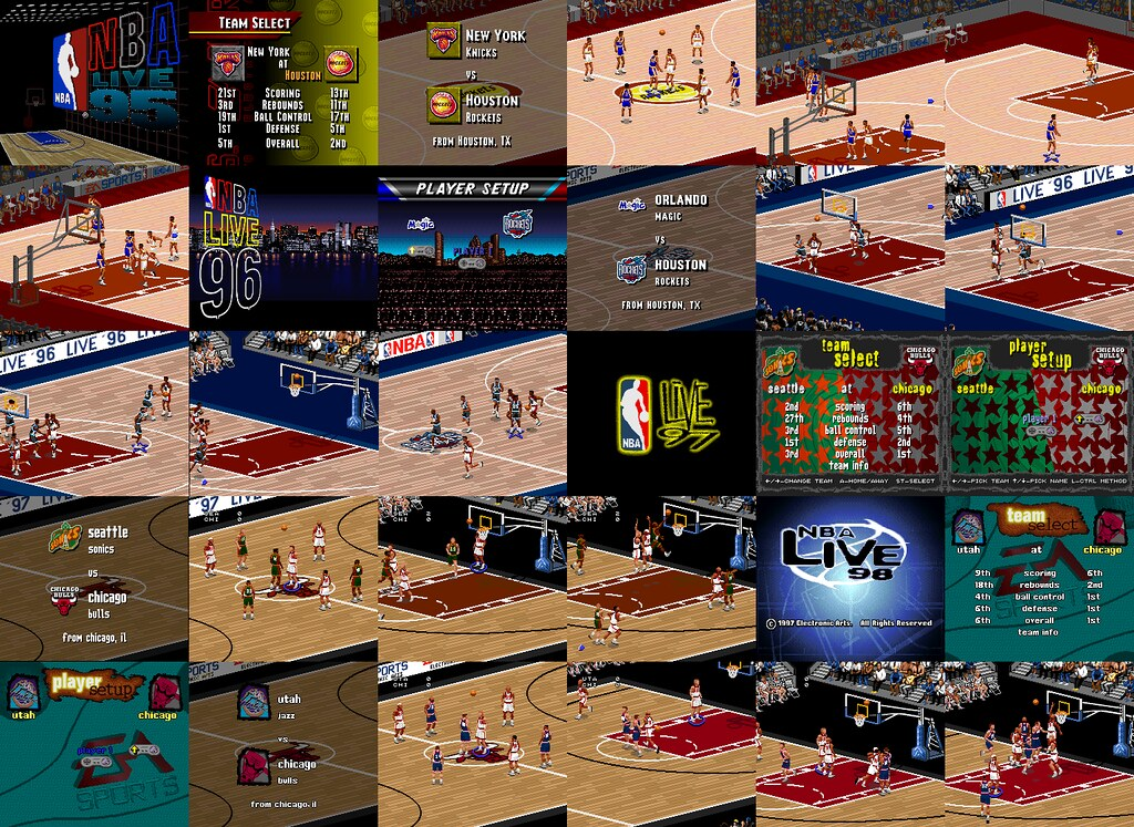 nba live 39 95 39 98 wallpaper classic gaming flickr