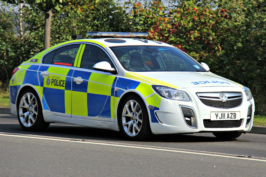 South Yorkshire Police Vauxhall Insignia Vxr Roads Policin Flickr