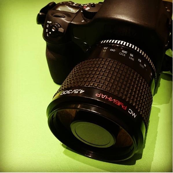 Rubinar 300mm F4.5 macro 中片幅數碼表現