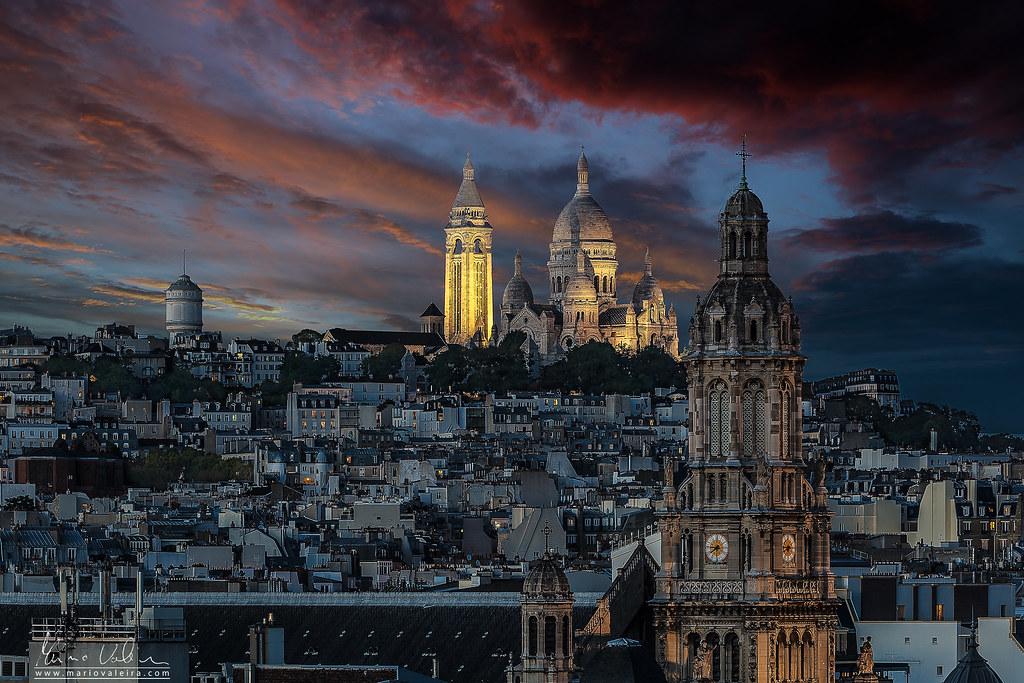 Basilique du Sacré-Coeur de Montmartre - Paris, France