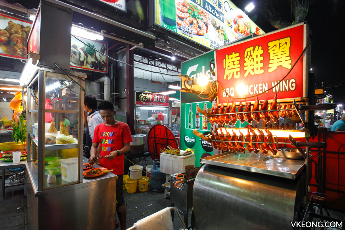 Sai Woo BBQ Chicken Wing Stall