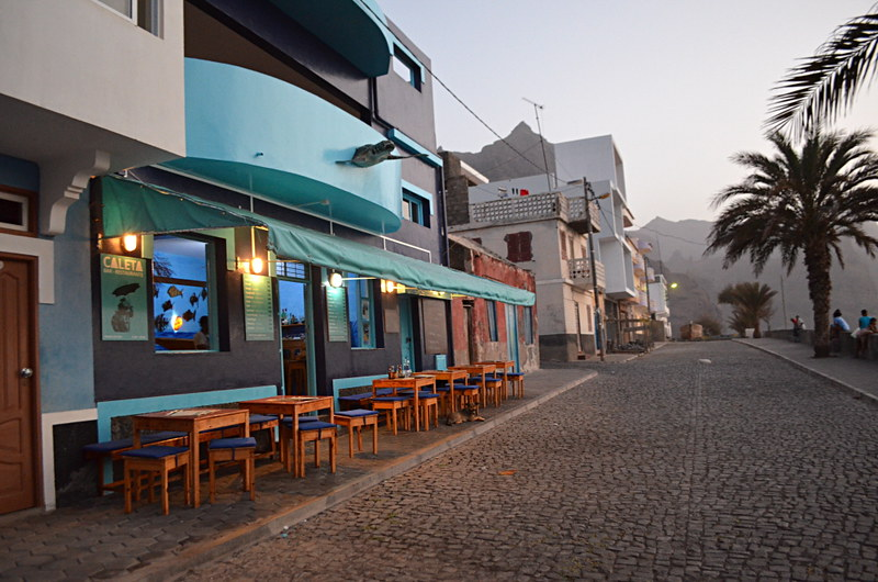 Sunset bar, Santo Antao, Cape Verde