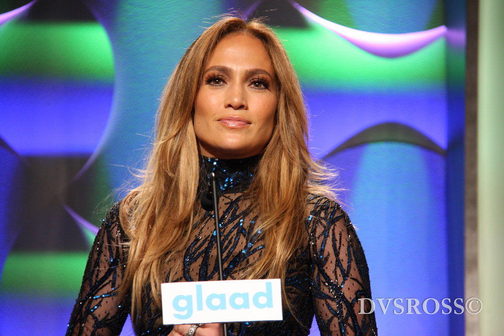 GLAAD 2014 Jennifer Lopez Casper 27 25th Annual