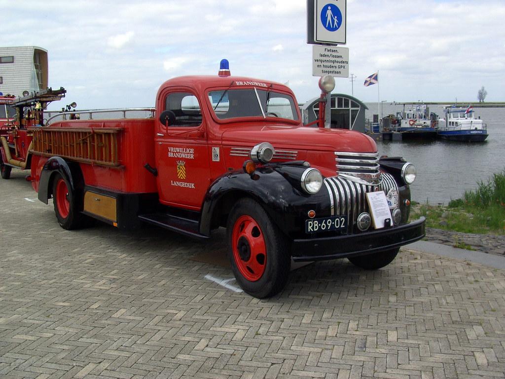 1946 Chevrolet Ms 4400 Kronenburg Fire Truck David Van