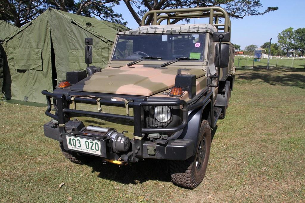 Australian Army Norforce Mercedes Benz G Wagon 6x6 Patrol
