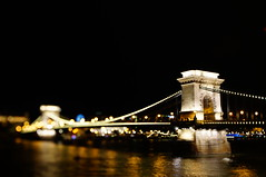 Chain bridge in Budapest Thru my tilted lens
