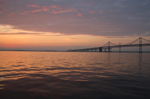 Photo of Bay Bridge at dawn