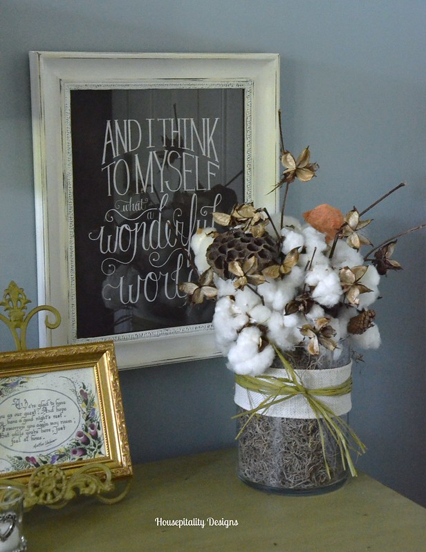Cotton Arrangement-Housepitality Designs