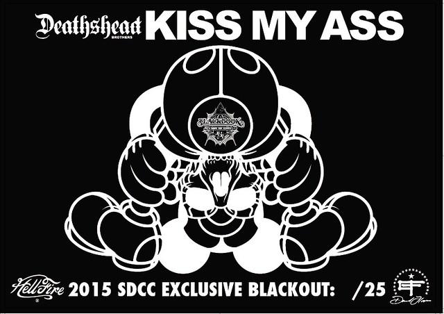 Kiss My Ass by David Flores x HellFire Canyon Club x BlackBook Toy