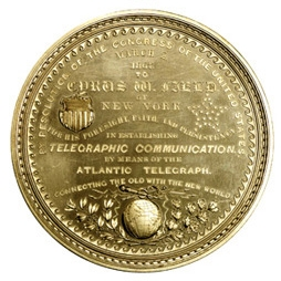 Gold Field medal obverse
