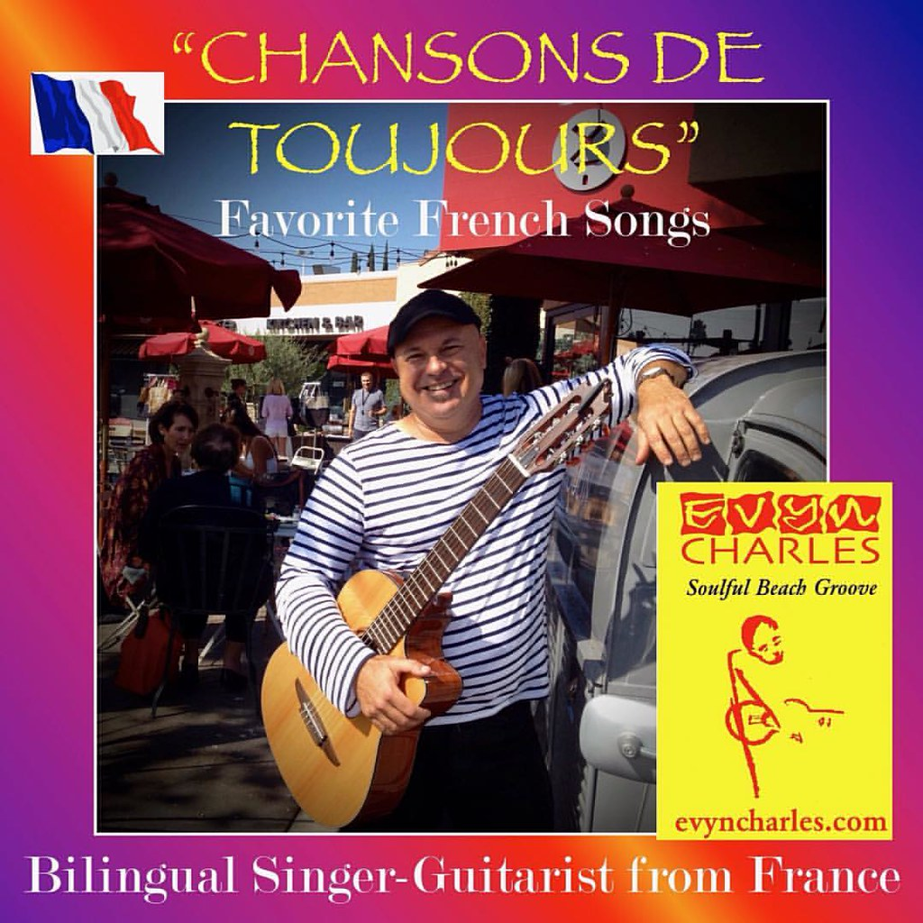 Chers amis, how about some French chansons for your next event? I was born and raised outside Paris, France, and am thrilled to offer some of the best songs in my native language :) A bientôt!